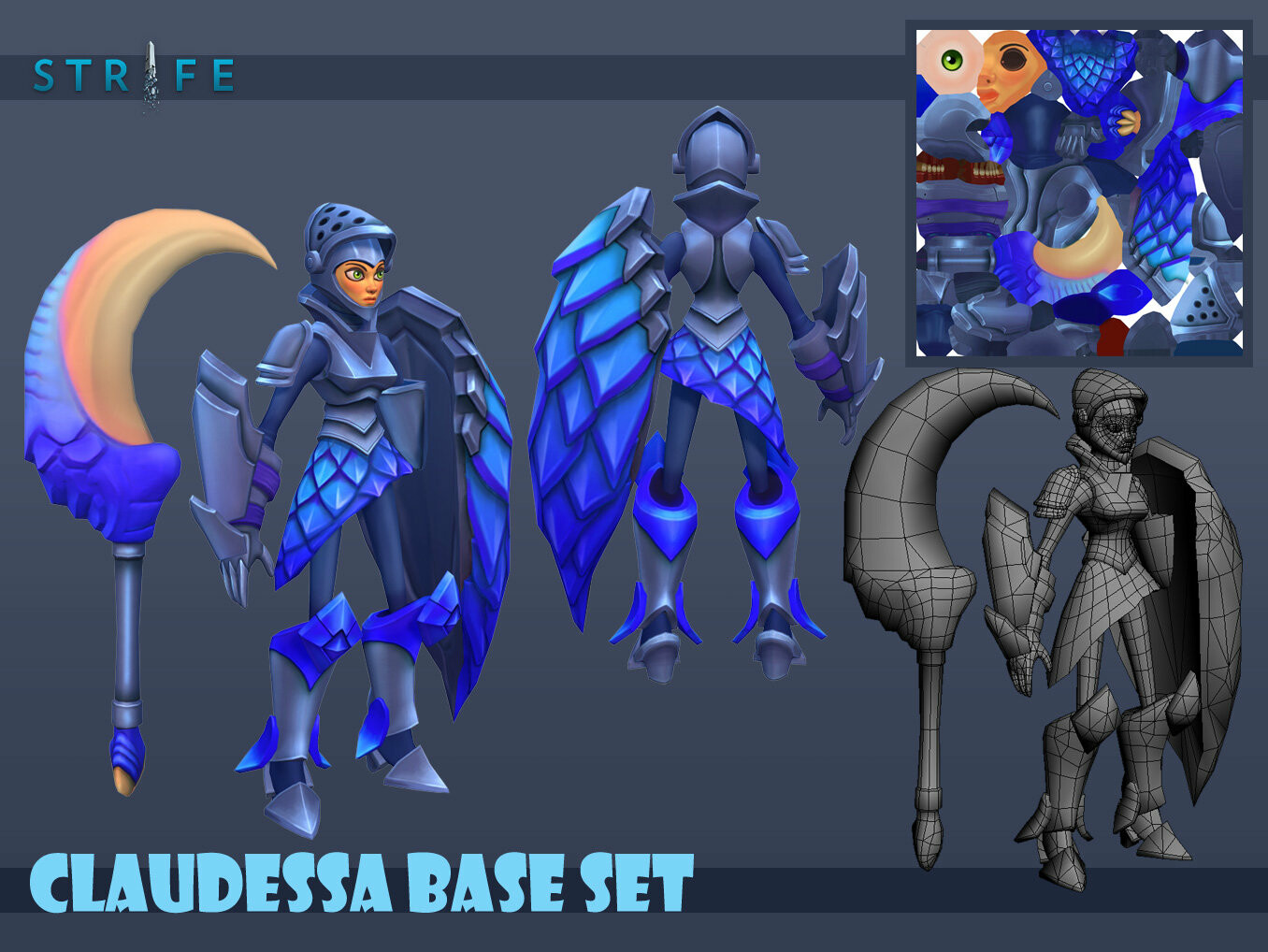 Claudessa Base Set 