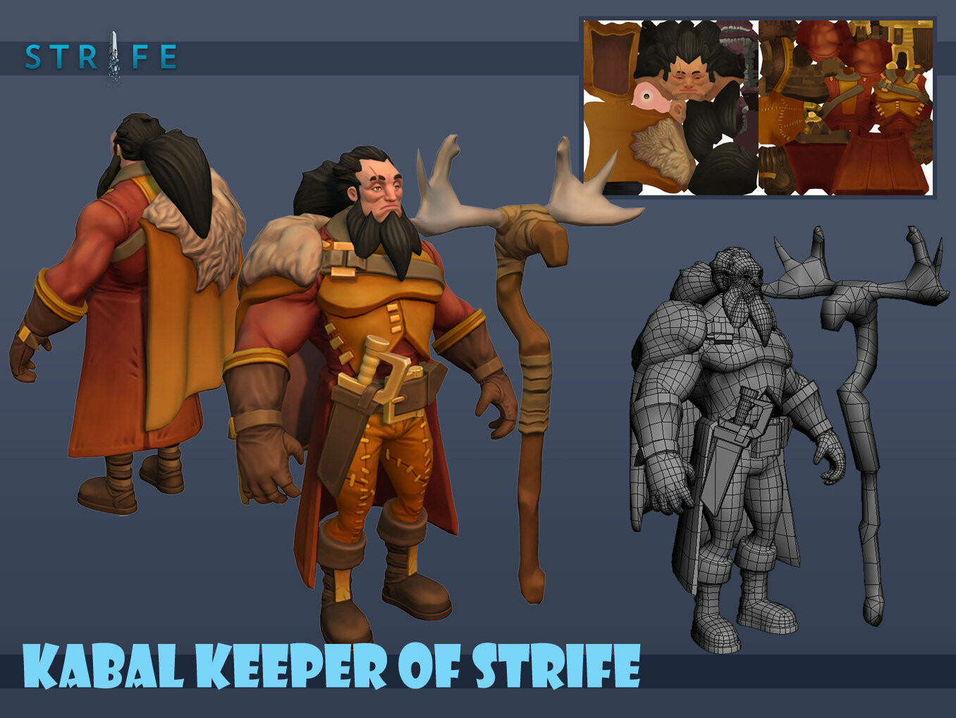 Kabal Keeper of Strife 