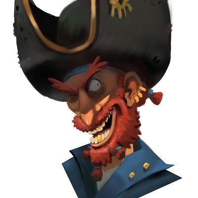 Peter klijn pirate sketch