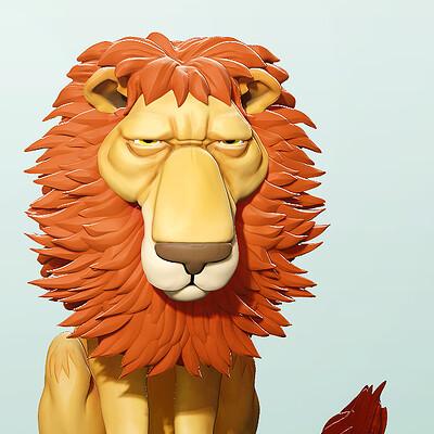 Thijs de vries 01 lions thijsdevries devriesarts com