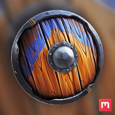 Wiktor ohman stylized shield 1