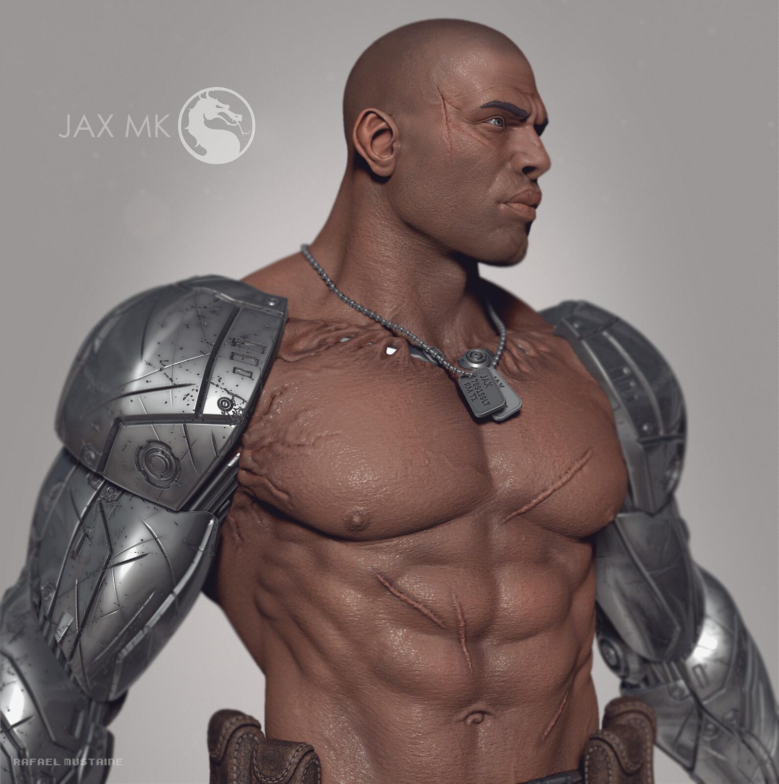 Jax MK Statue