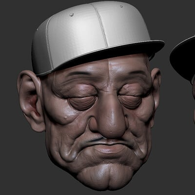 Another Character I started during the ZBrush 2019 Beta testing in January