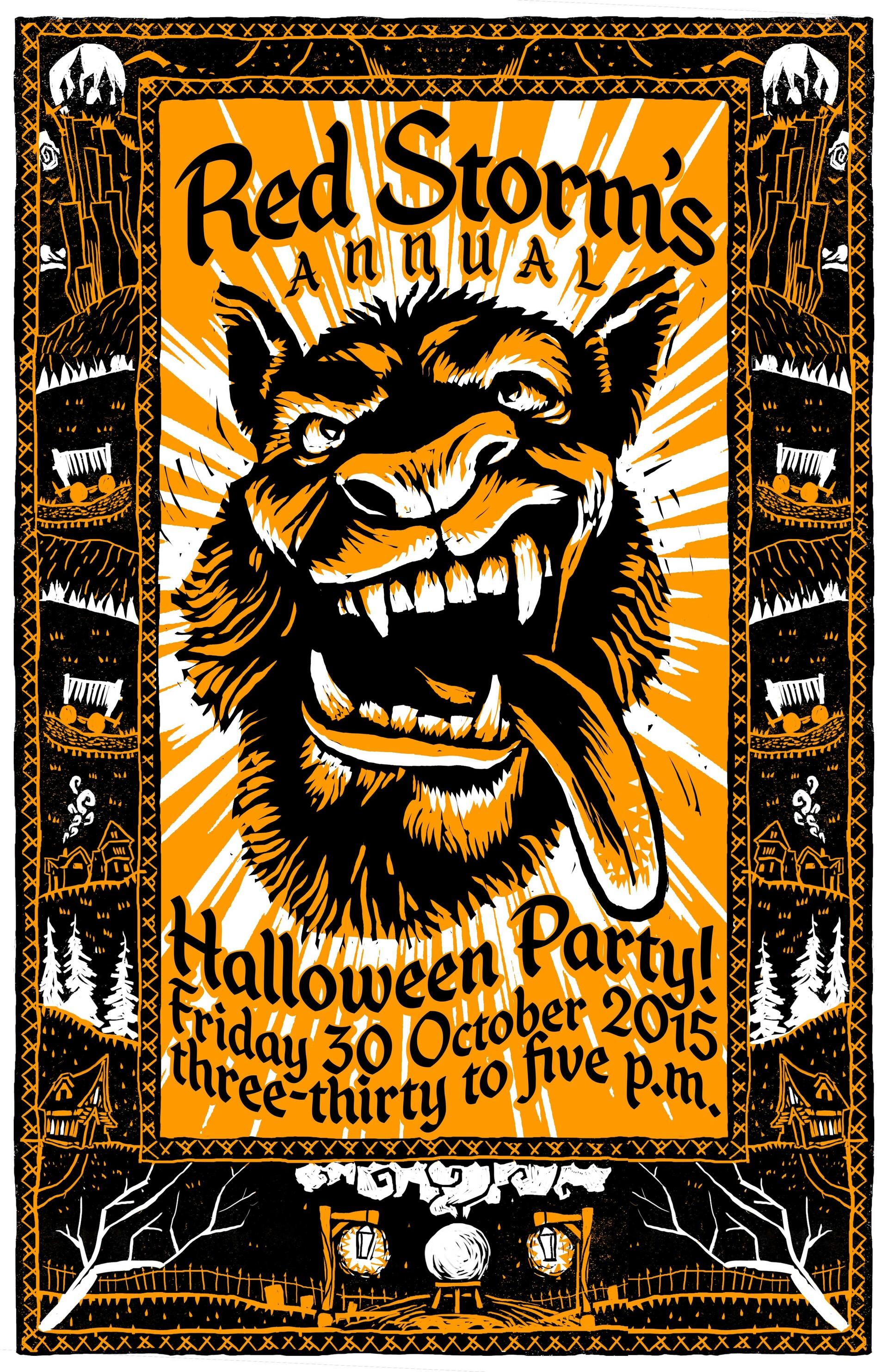 Andy foltz 2015 halloween poster