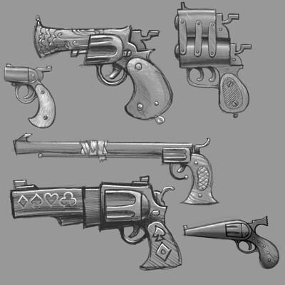 Andy foltz gun doodles