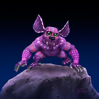 Renaud guyomard alebrije creature