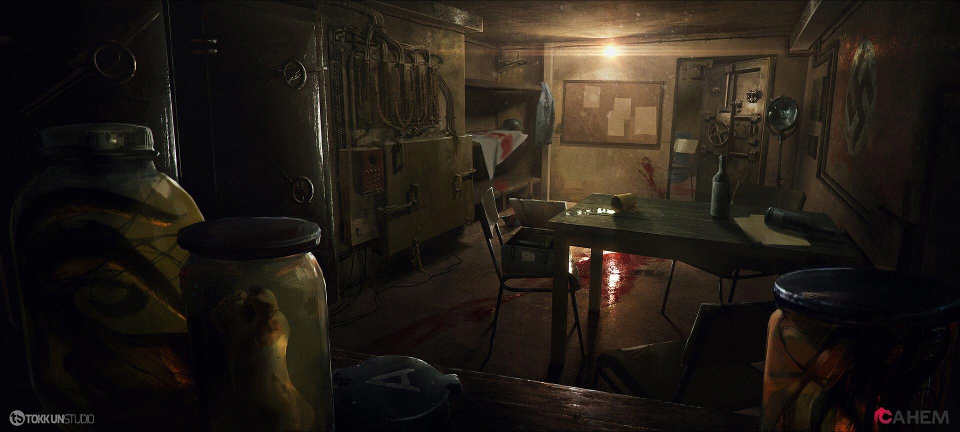 Joseph nickson joseph nickson nazi bunker concept