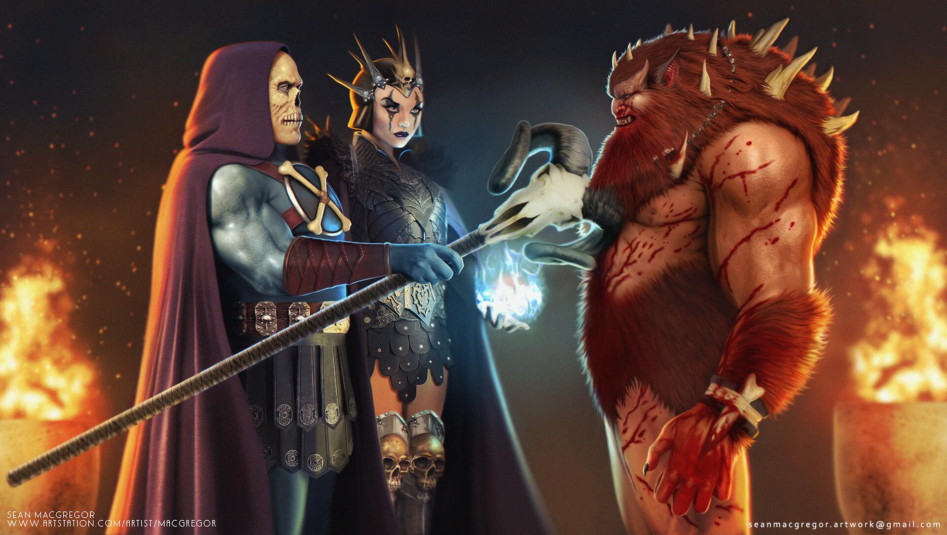 Beastman Concept Art He Man