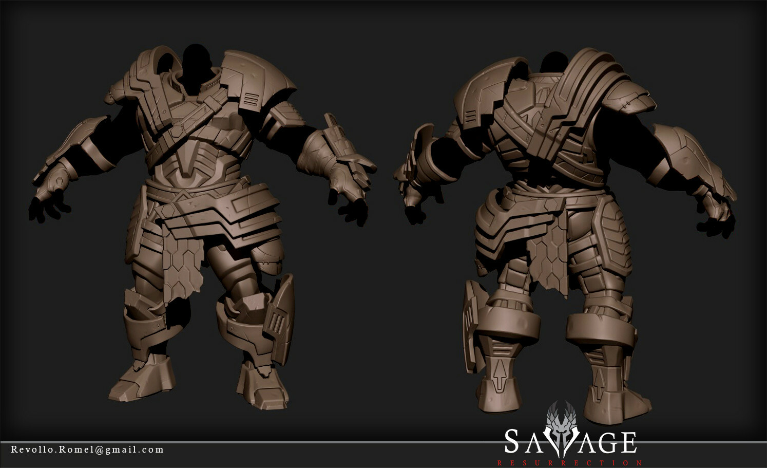 Legionnaire Base Gear Highpoly Model