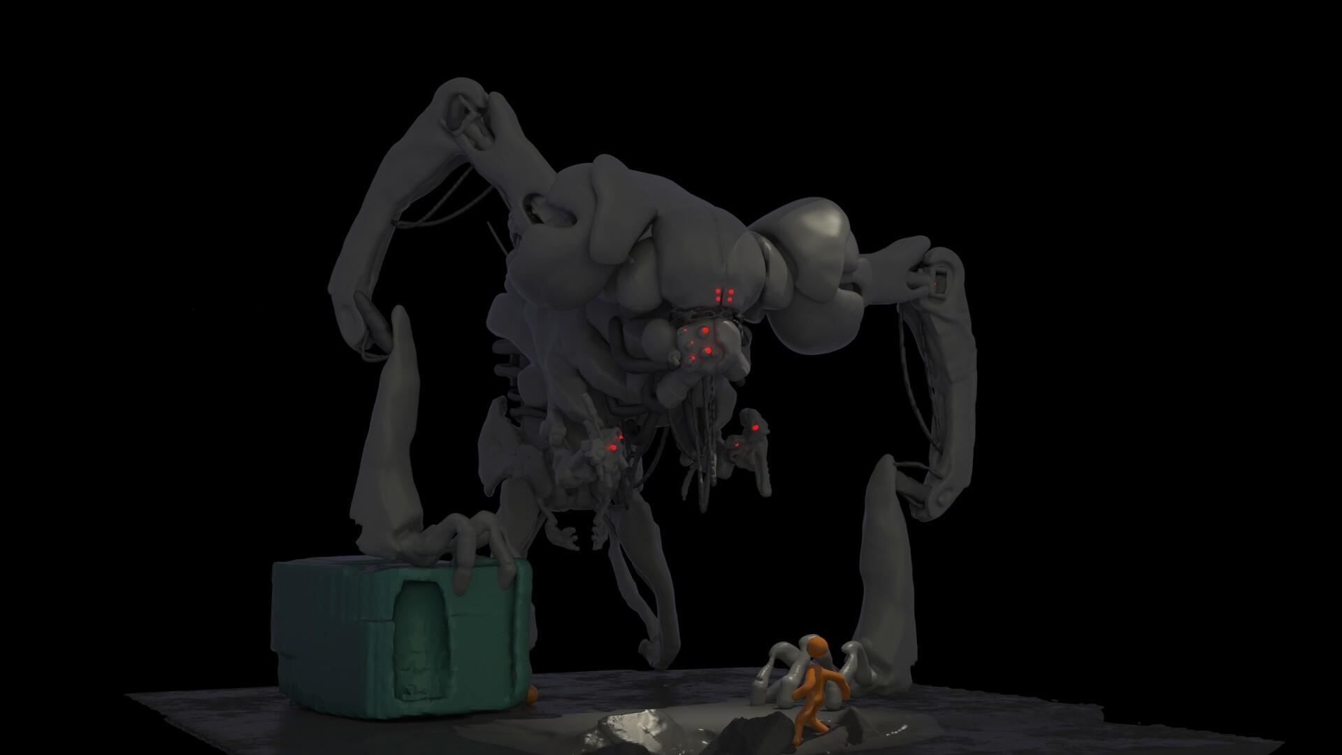 Digital Sculpture by Marcelo Pasqua