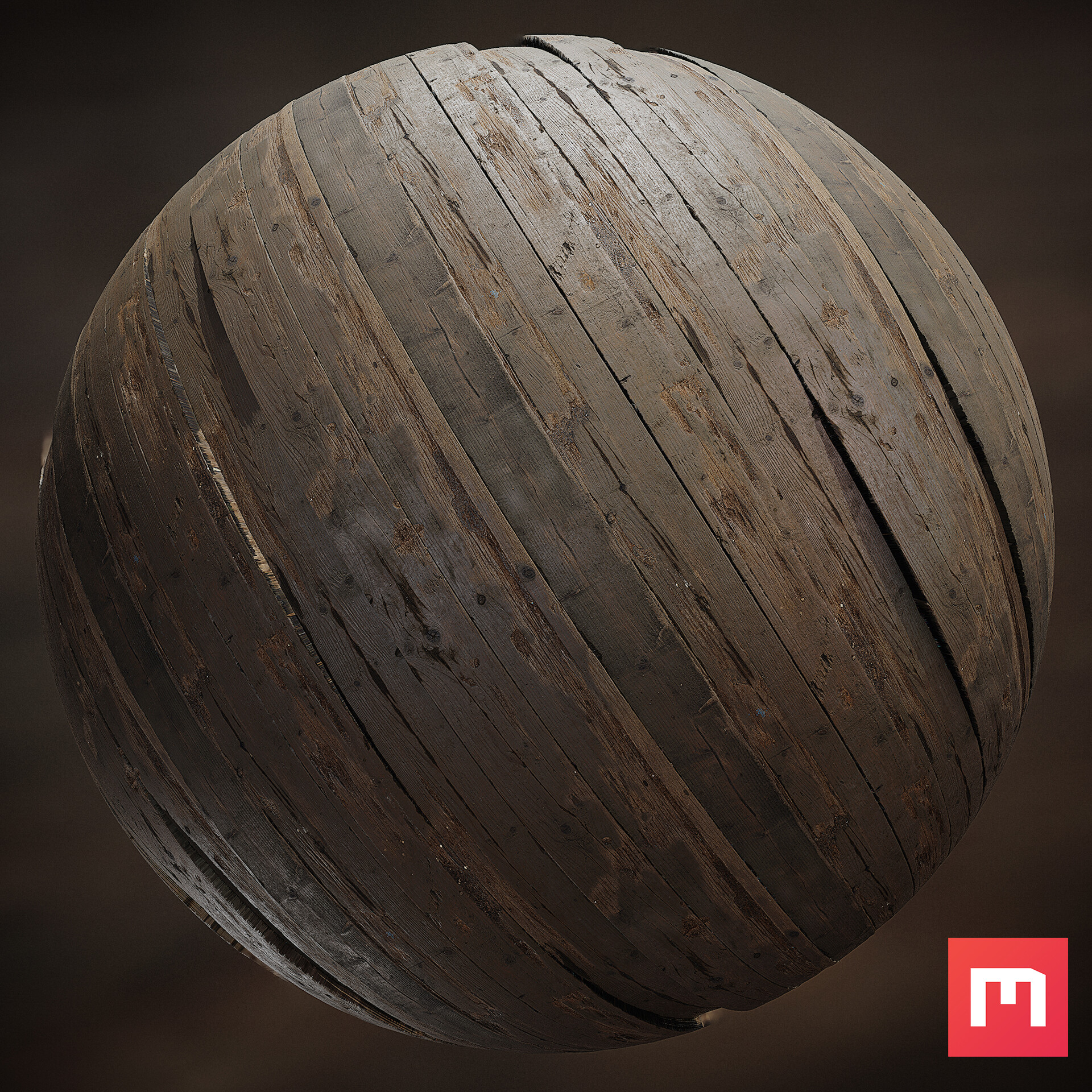 Floor material, made in Quixel Mixer.
