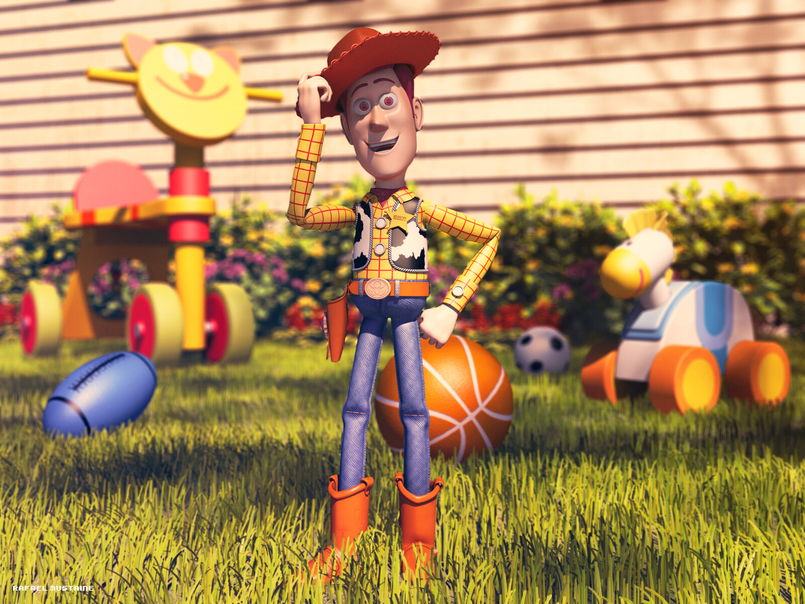 sheriff woody Fan Art
