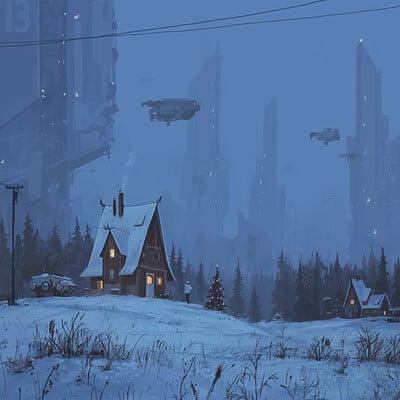 Stefan koidl lonely cabin