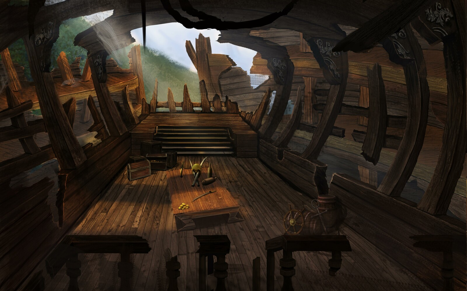Inside of Shipwreck Island (Final)