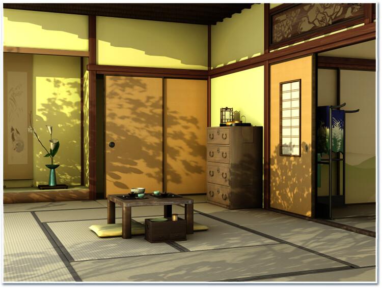 Japanese room - Study