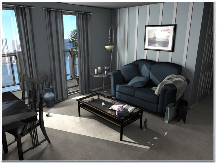 Apartment - Study