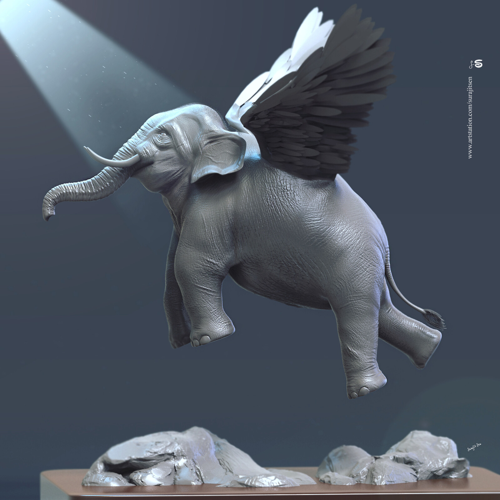 #flyingelephant