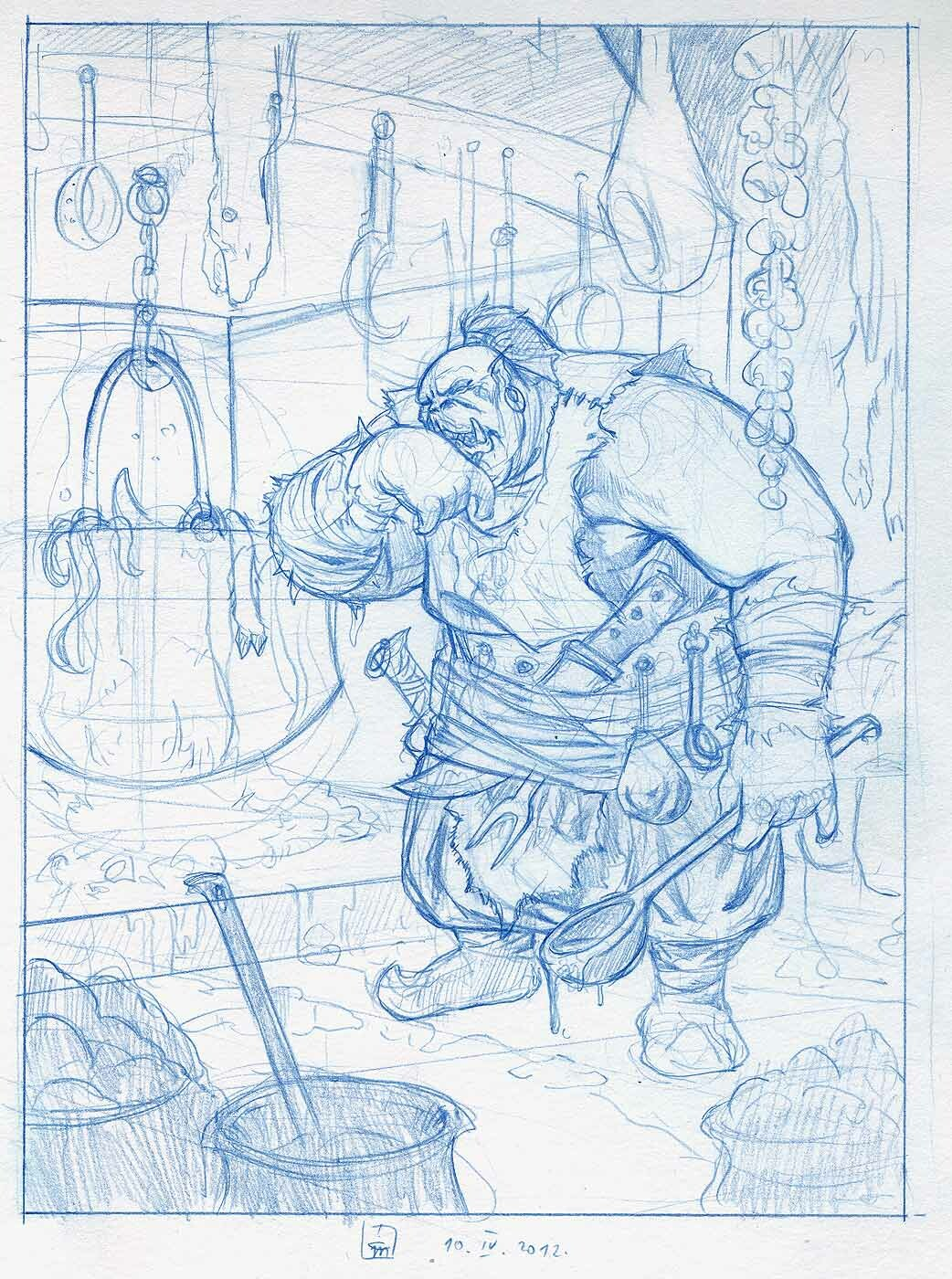 Orc Cook - © Milivoj Ćeran 2012.