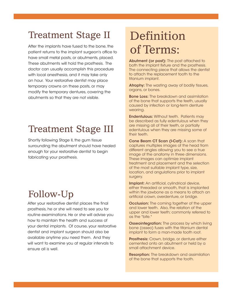 Charles kent benefits of implants booklet v2 logical order spera 16