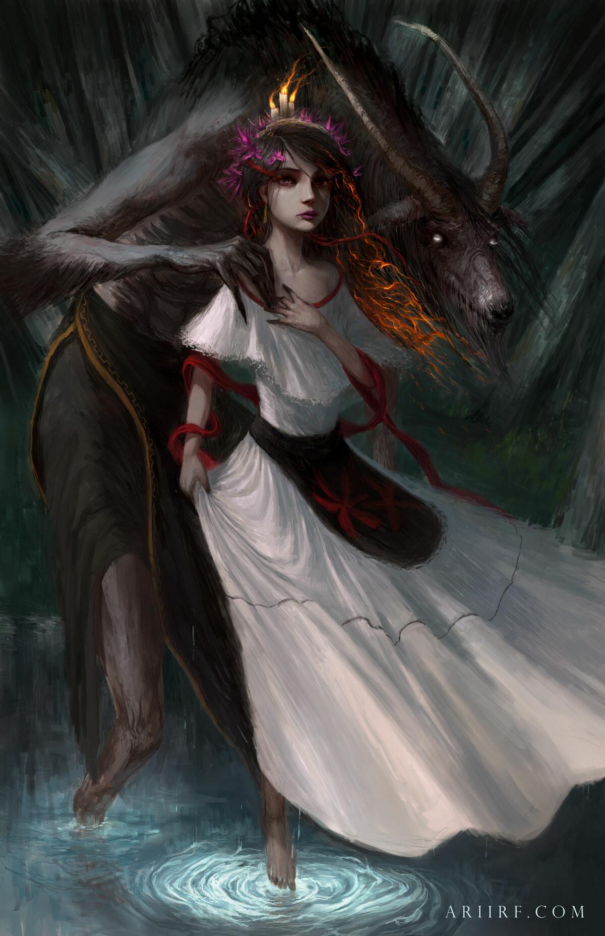 La bruja y Huay chivo