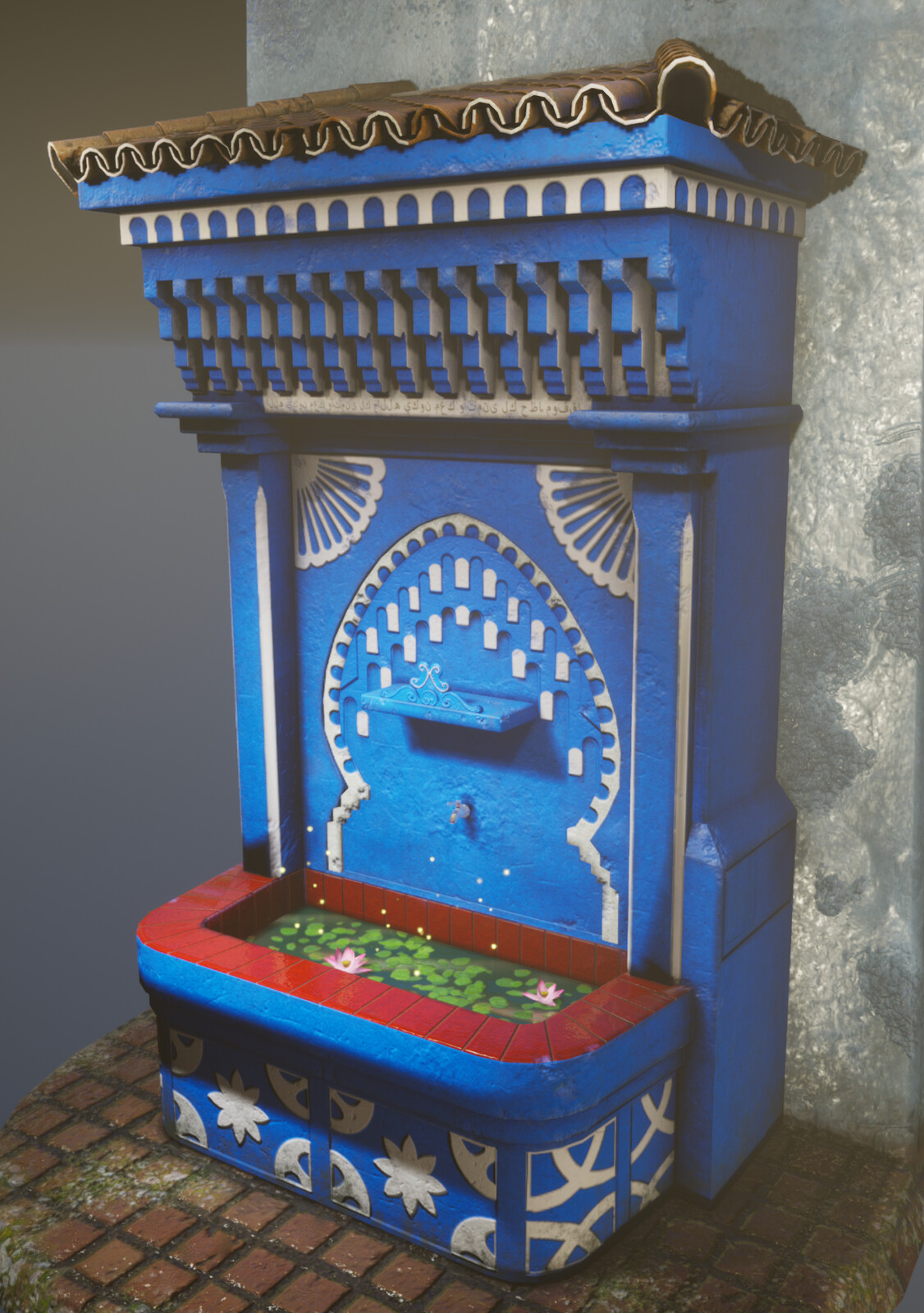 Water Fountain, Morocco