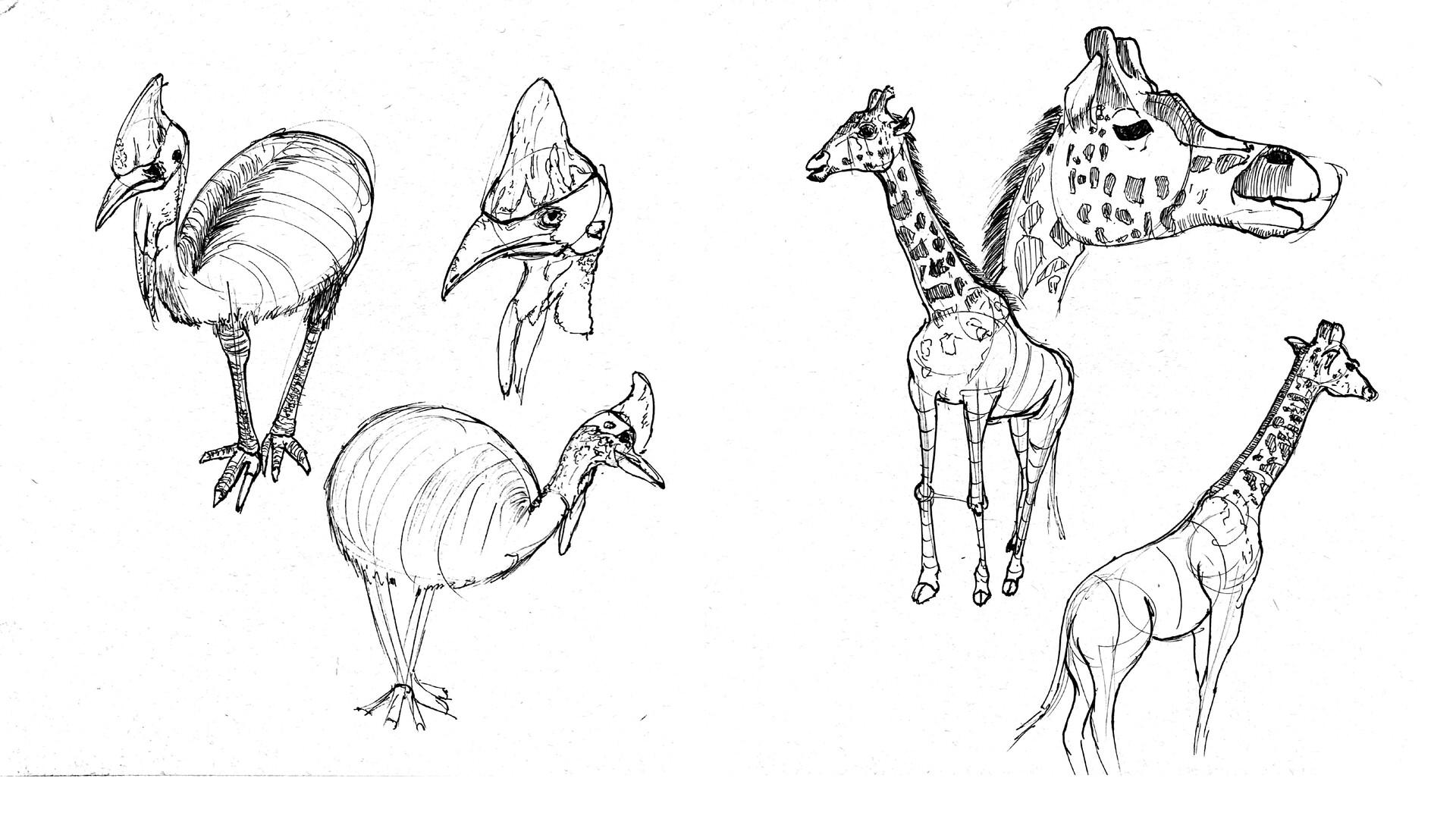 Kentaro yajima sketches2