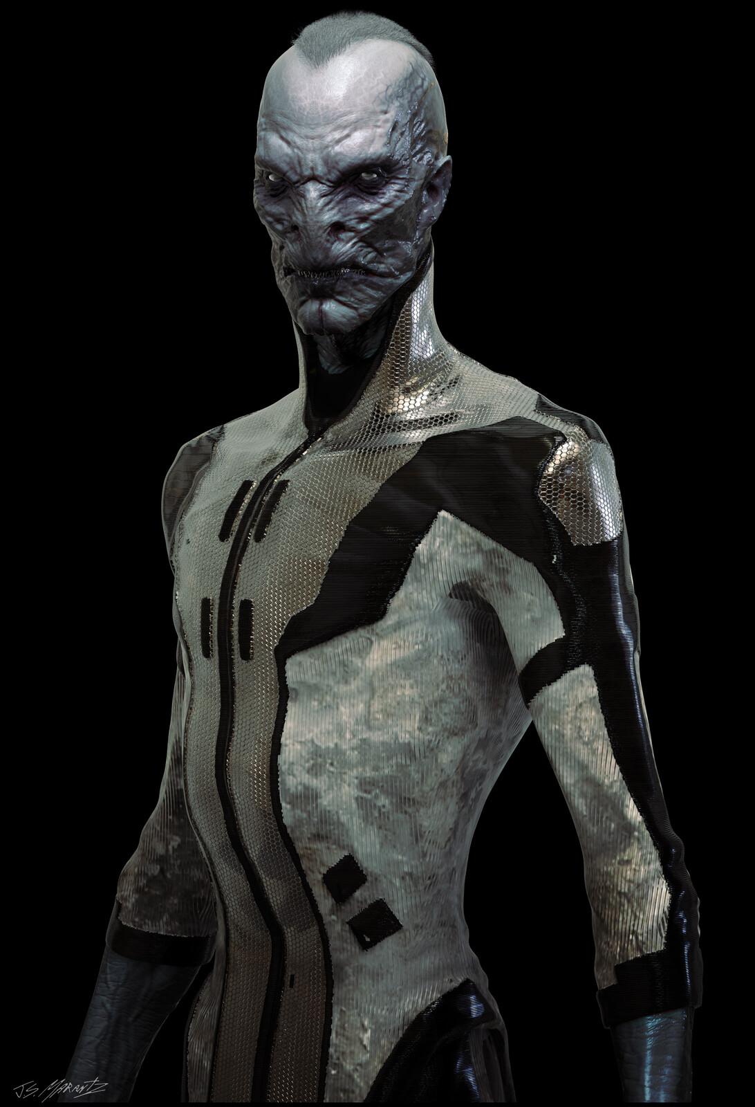 Avengers Infinity War: Ebony Maw Concept Art