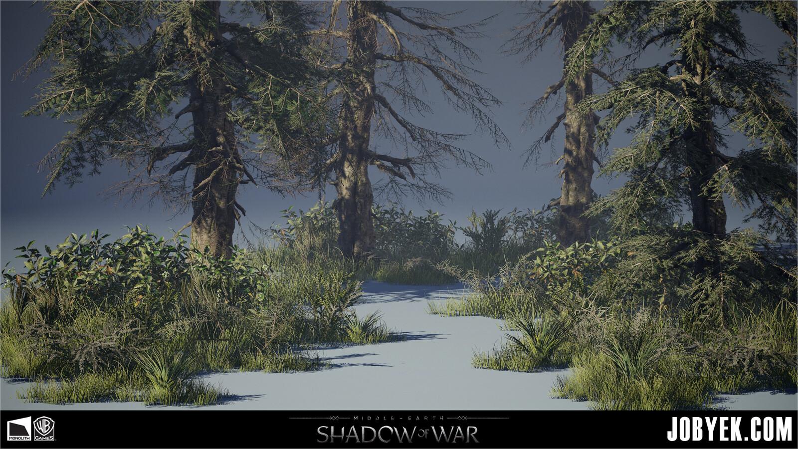 Minas Ithil - Wilderness assets
