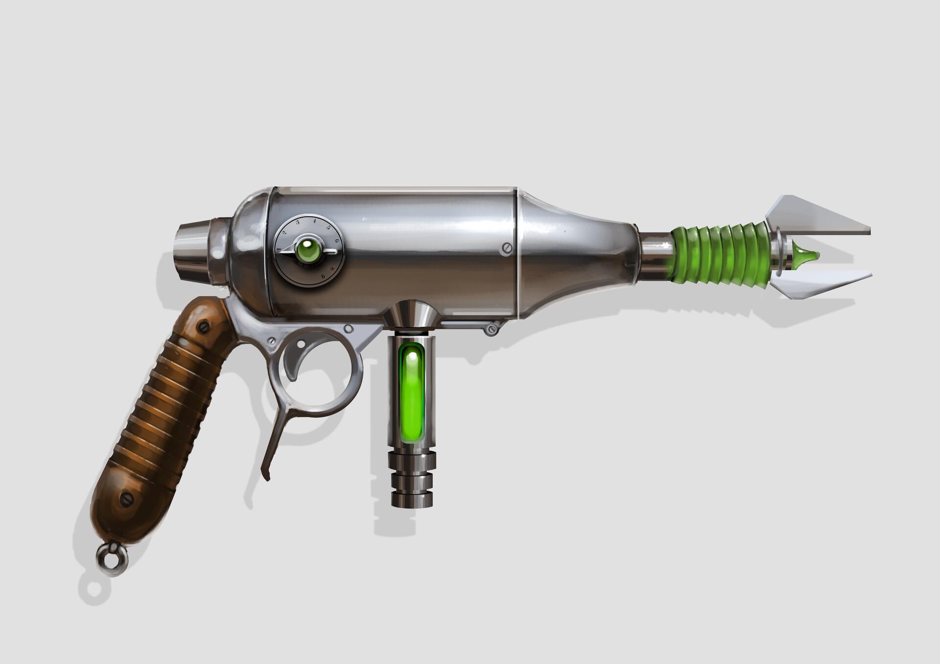Simon lissaman ray gun