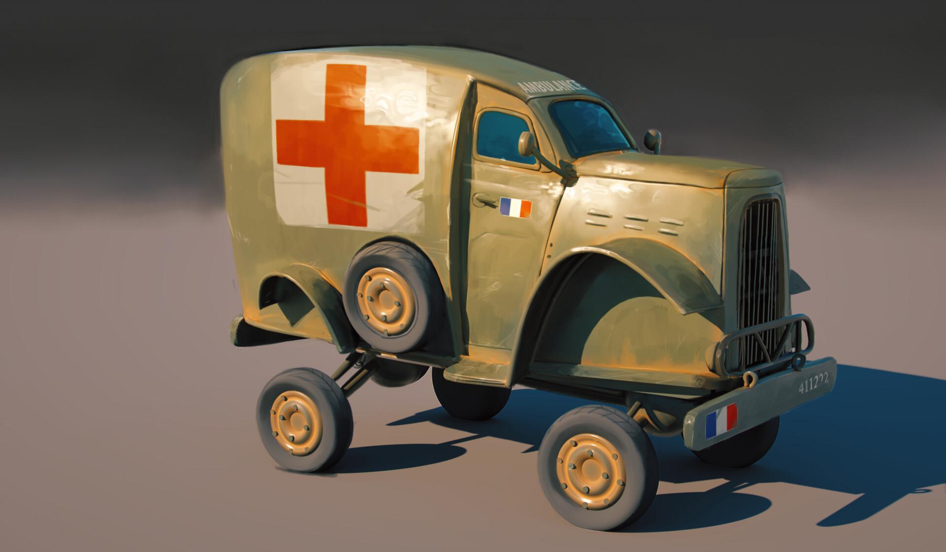 Florian escuer ambulance