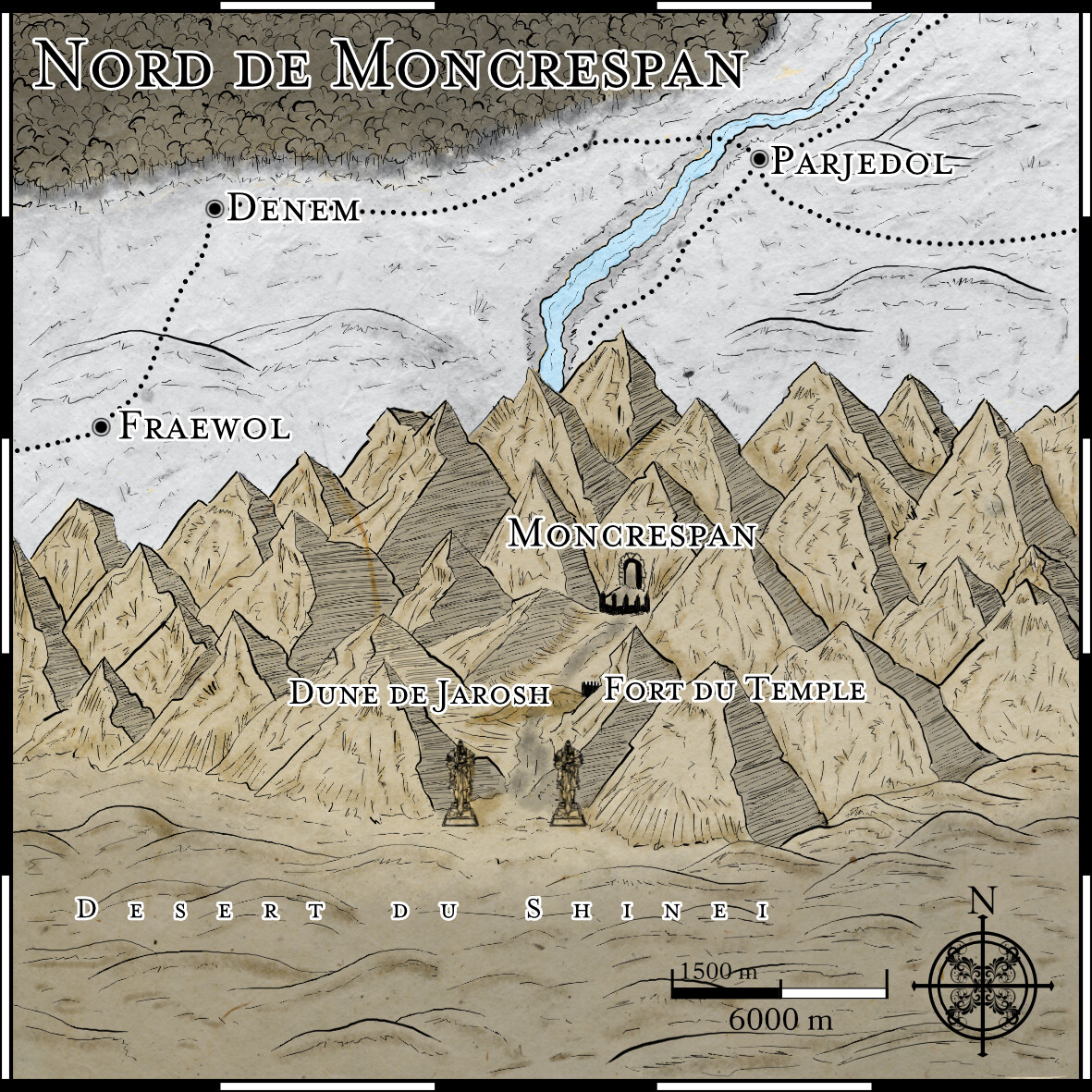 Situation de Moncrespan
