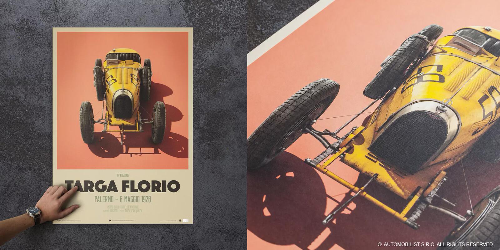 Usage on posters - Bugatti T35