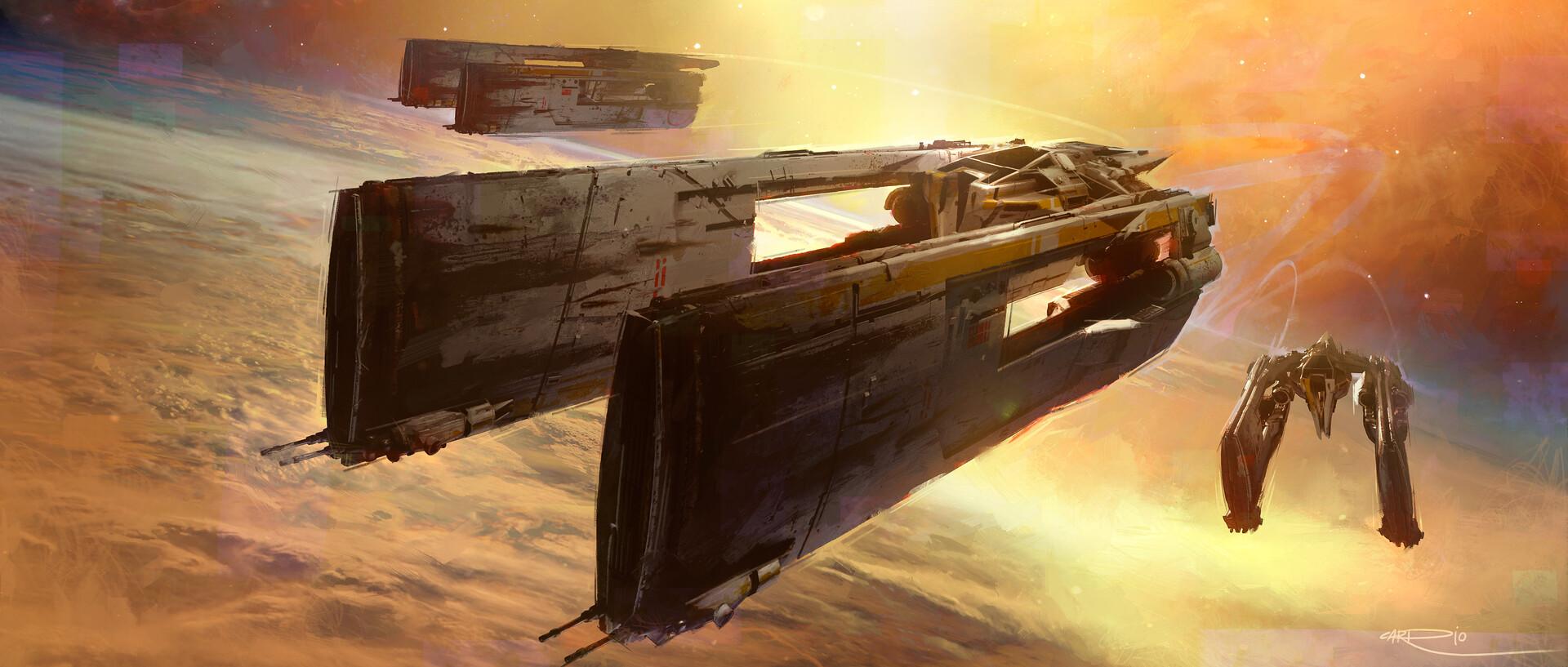 Pablo carpio spaceship 1 4k