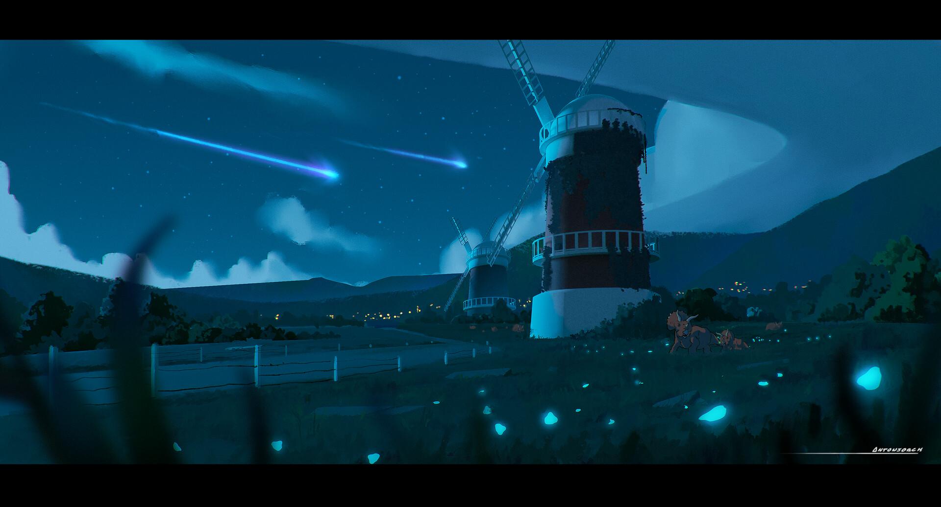 Jorge gonzalez ghibli windmill 3