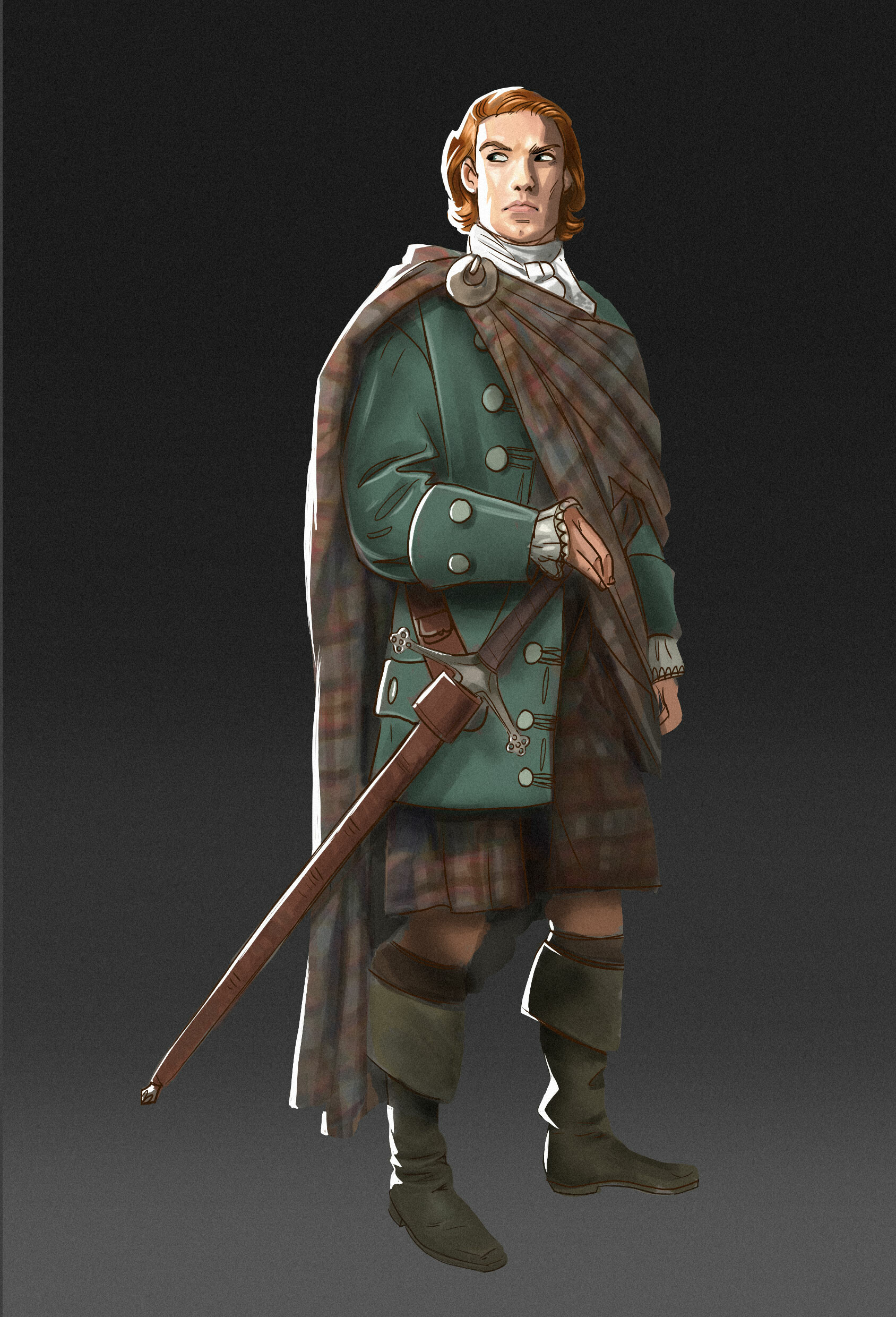 A scottish warrior