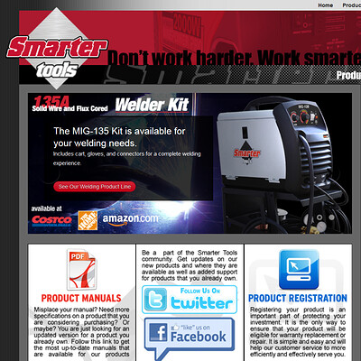 Smarter Tools Website