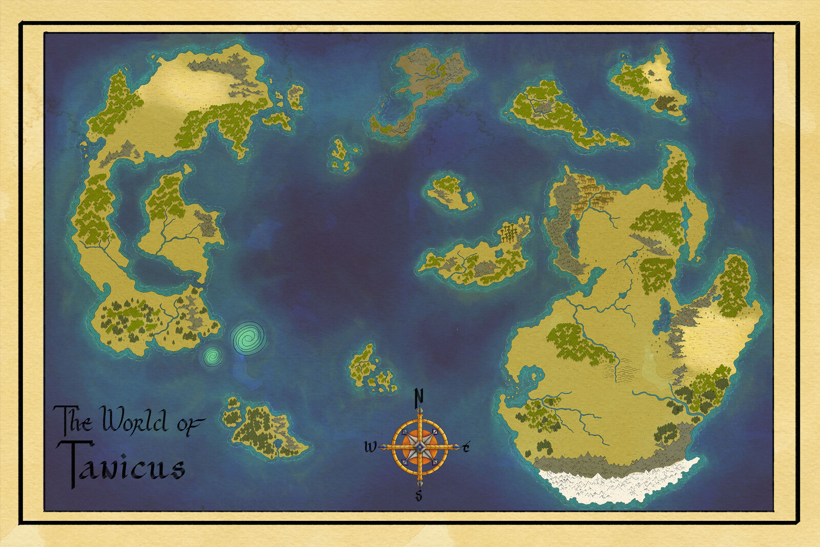 Tanicus World Map