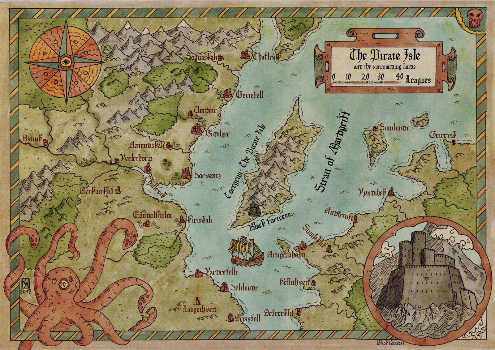 The Pirate Isle