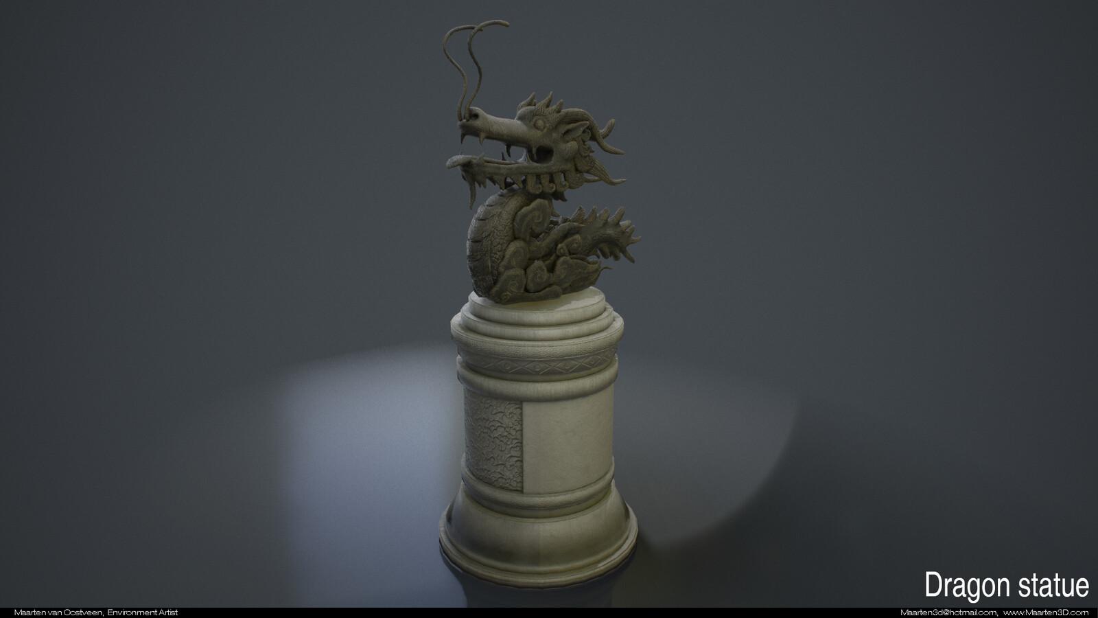 Dragonstatue