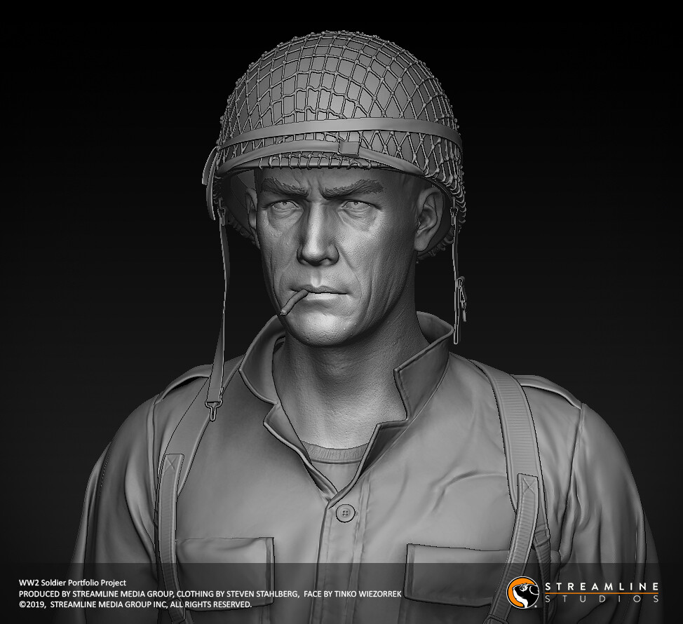 Tinko wiezorrek soldier face 03