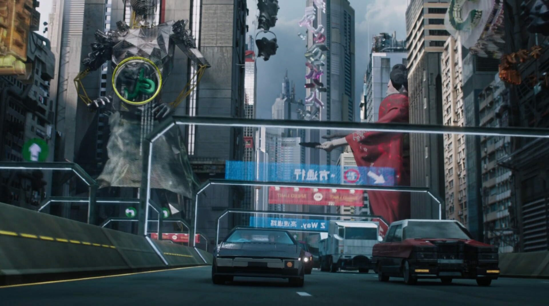 Film frame | GITS | Director: Rupert Sanders