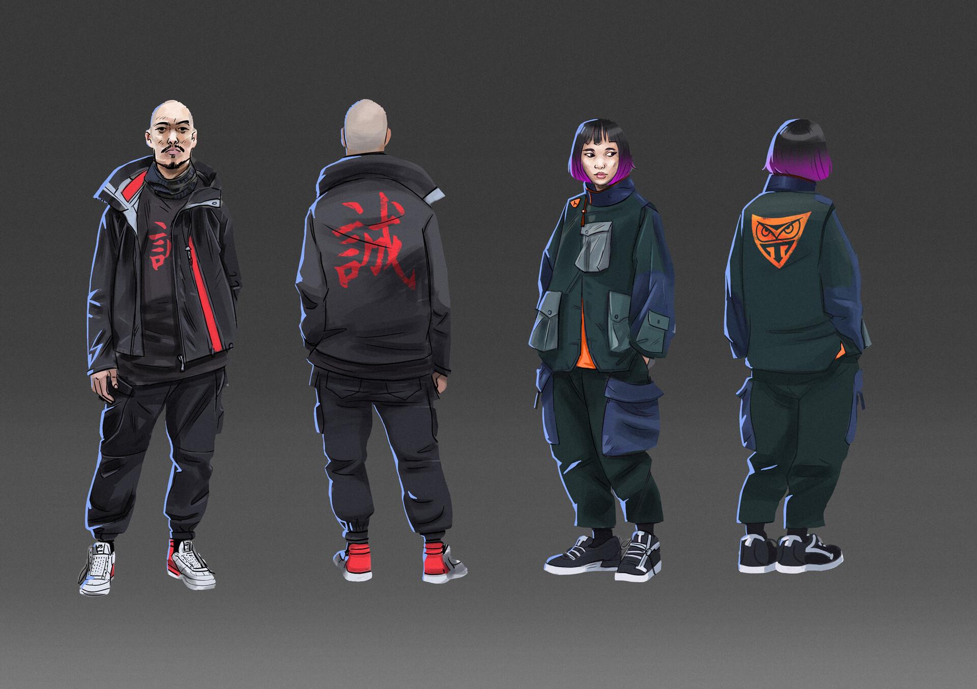 Cyberpunk character design