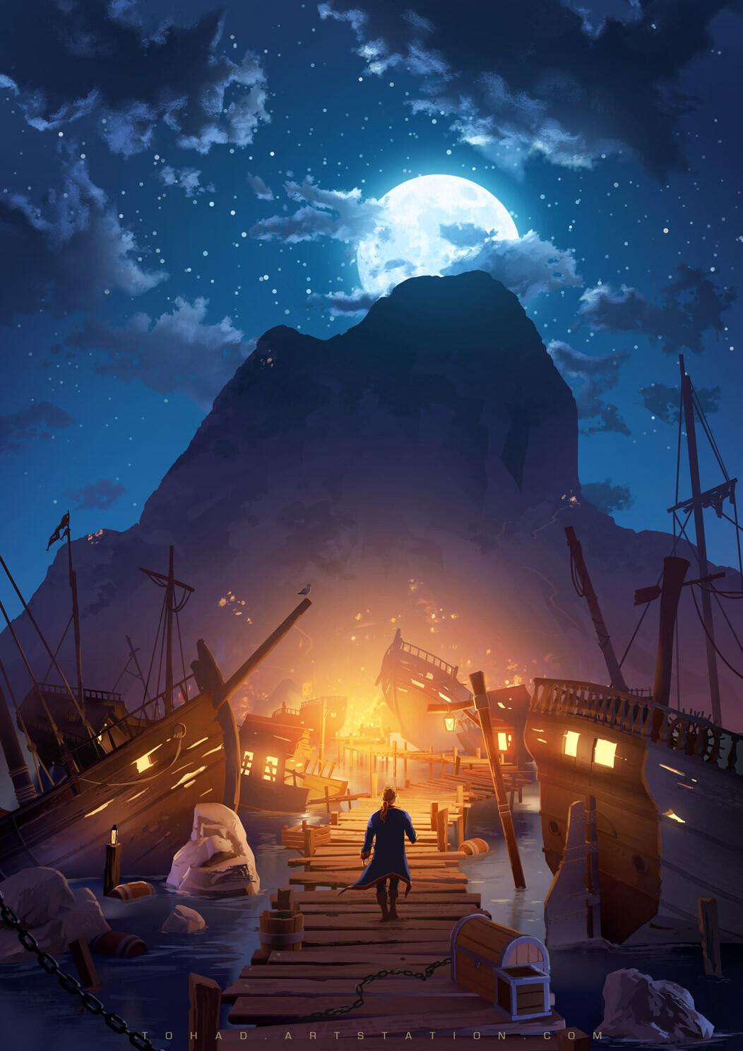 Monkey Island Book Cover