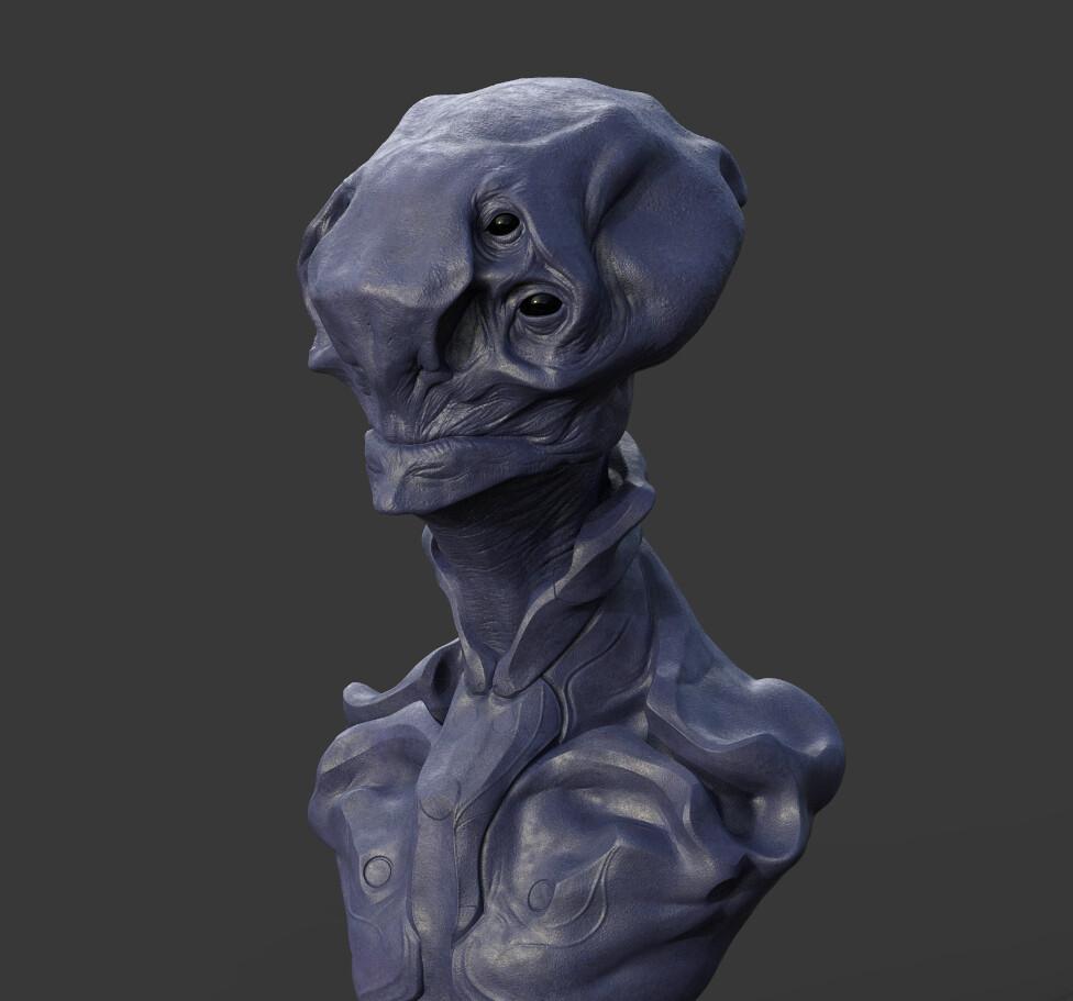 Alien creature WIP