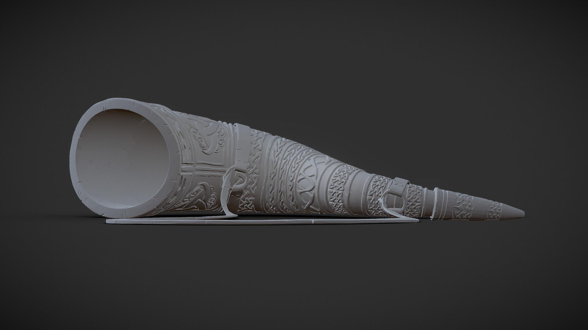 ArtStation - Viking Horn, Eddy Margueron