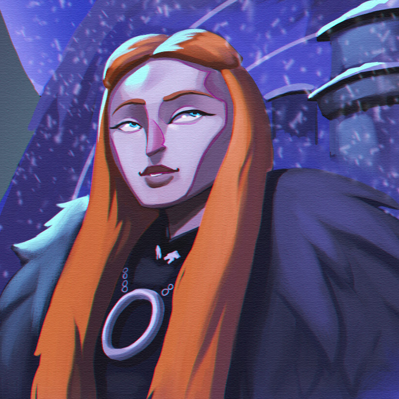 Lady Sansa Stark of Winterfell