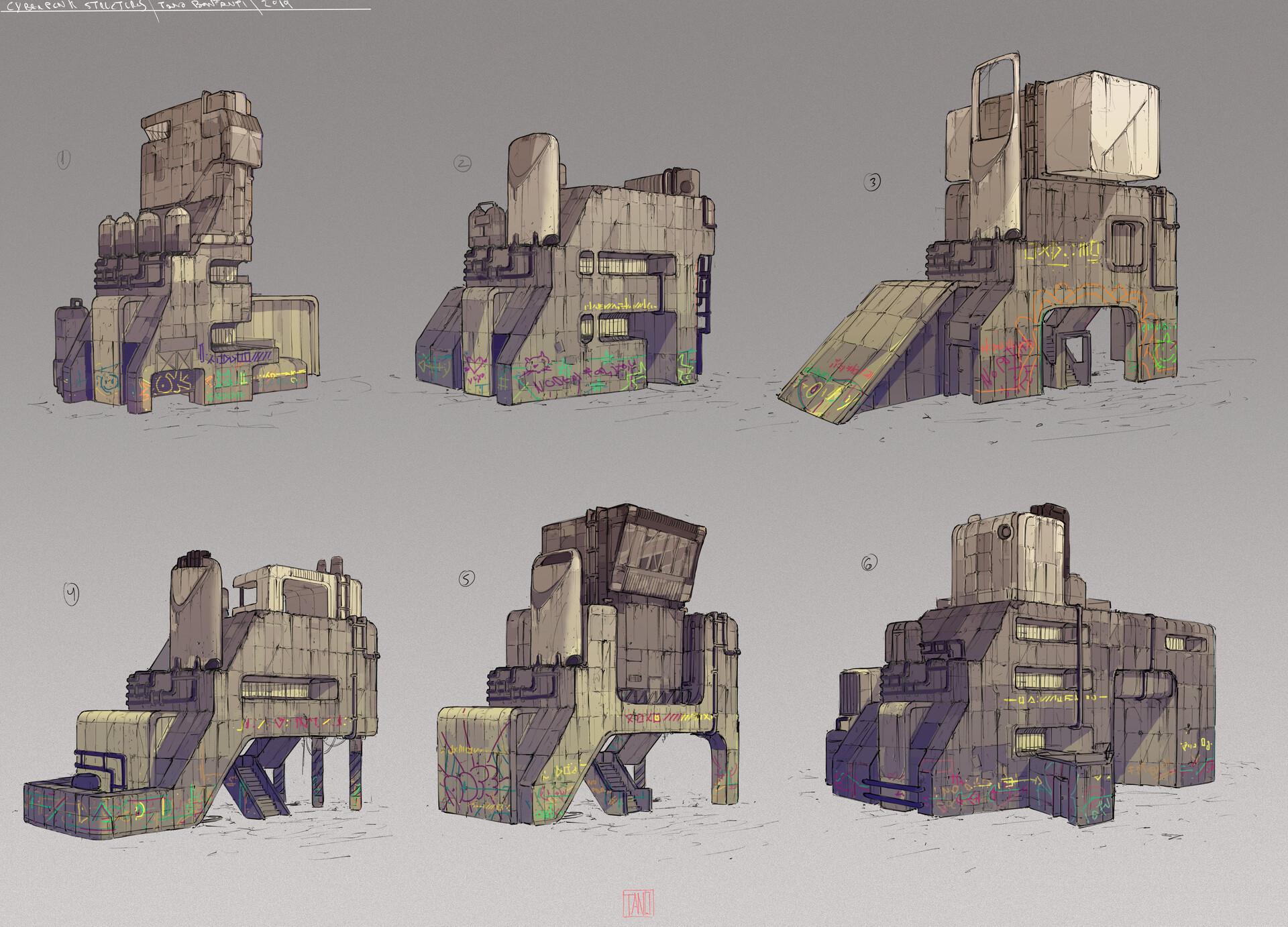 Tano bonfanti cyberpunk structures 2