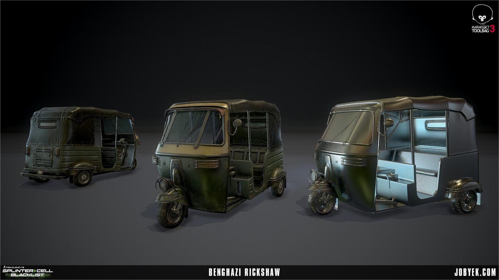 Rickshaw render
