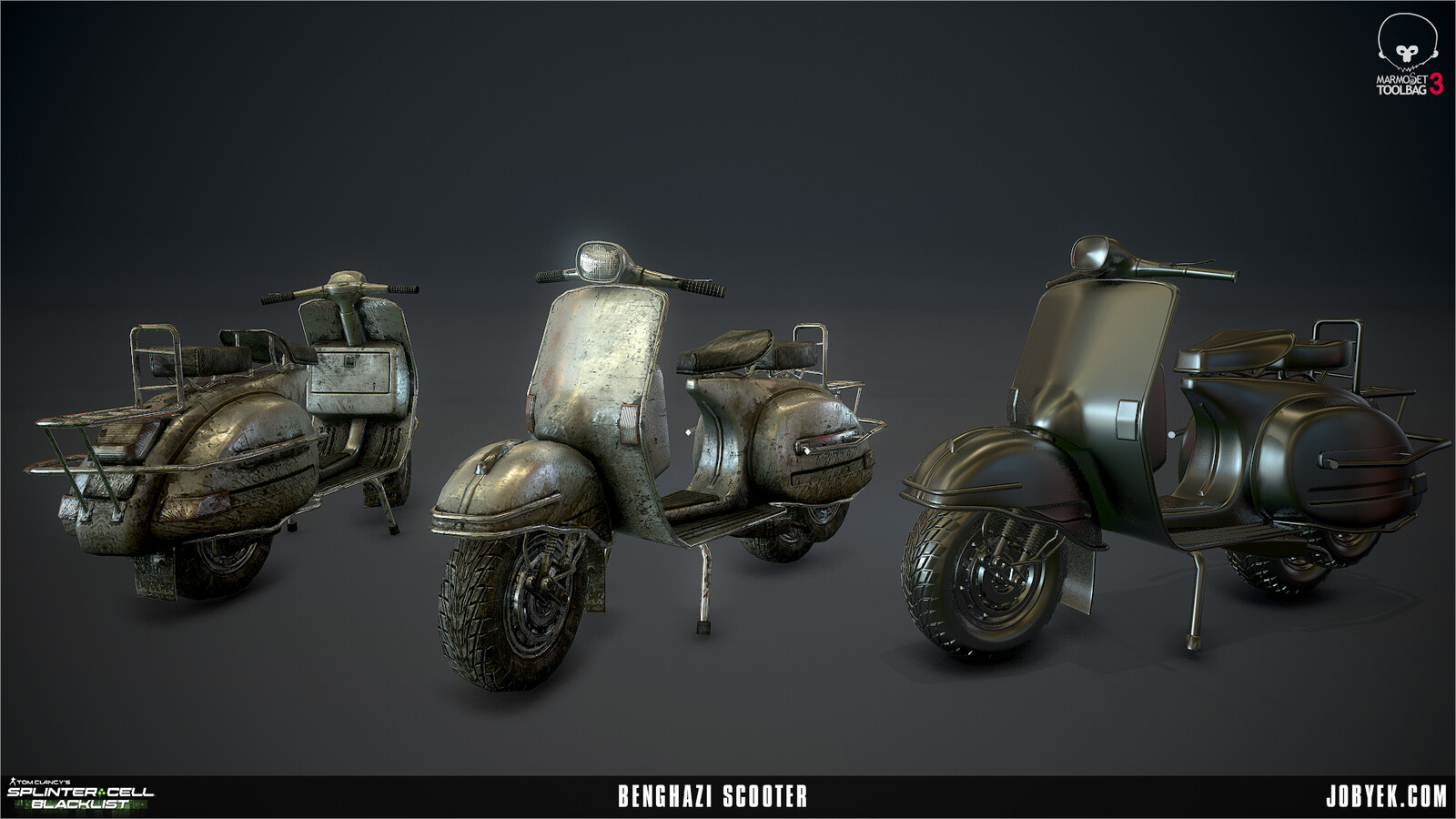 Scooter render