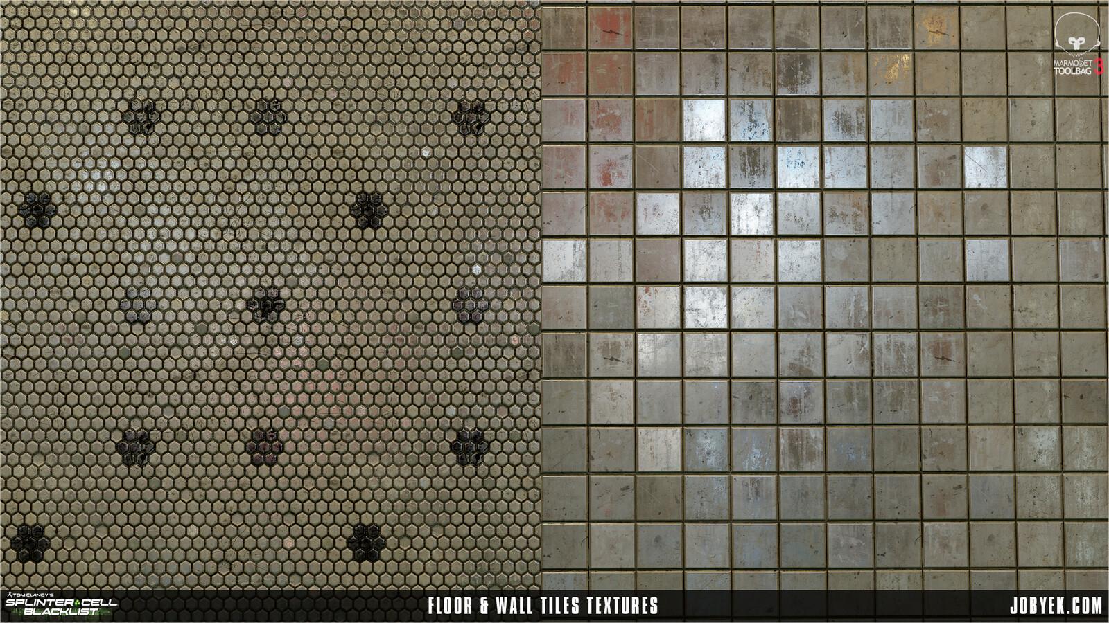 Apartment Tiles textures